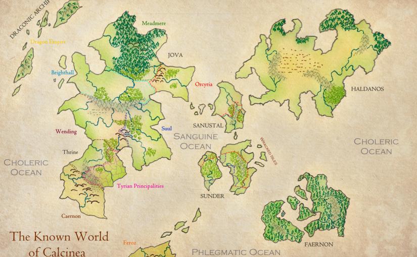 A Map ofCalcinea