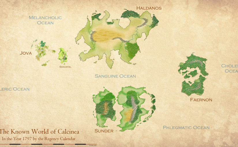 A More Accurate Map of Calcinea!